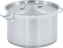 Stock Pot 23 L 35x22 cm Stainless Steel
