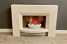 Stockeld Electric Fireplace Fire Heater Heating