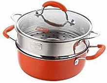 Stockpot Pan Stainless Steel 2 Handles Stock Pot