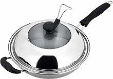 Stockpot Pan Uncoated Wok- Cooks Standard
