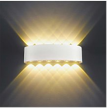 Stoex - 12W Modern LED Wall Light Up Down Indoor