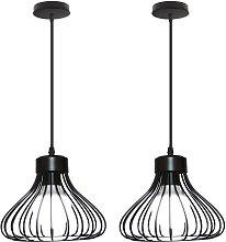 Stoex - 2X Vintage Industrial Pendant Light
