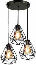 Stoex - 3-Lights Industrial Ceiling Pendant Lights
