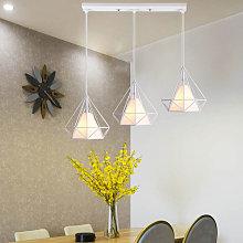 Stoex - Chandelier- 3 Lamp Holders Pendant Light