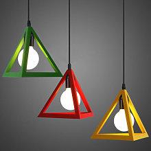 Stoex - Modern Pendant Light Triangle Vintage