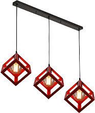 Stoex - Retro Chandelier Cube Hanging Light
