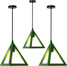Stoex - Triangle Pendant Light Classic Green