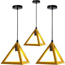 Stoex - Triangle Pendant Light Classic Yellow