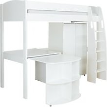 Stompa Uno S Plus High-Sleeper Bed with Wardrobe