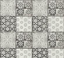 Stone tile wallpaper wall Profhome 368954-GU