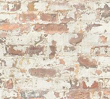 Stone tile wallpaper wall Profhome 369291-GU