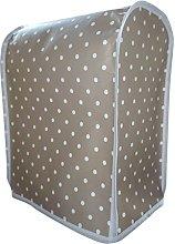Stone & White Polka Dot PVC Smeg SMF01 Stand Mixer