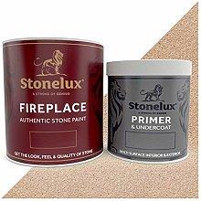 StoneLux® Fireplace Stone Coating - Stone Effect