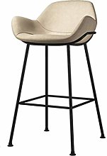 Stool Bar BAR STOOL with backrest metal legs with