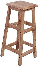 Stool Bar BAR STOOL Wooden with footstool square