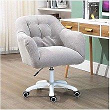 Stool Chair Desk Stool Sofa Velvet Spin Computer