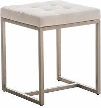Stool Mercury Row Upholstery colour: White