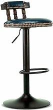 Stools BarStools Bar Chair Solid Wood Bar Lifting