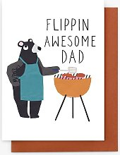 Stop the Clock Design Awesome Father's Day Card