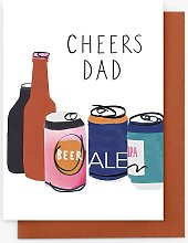 Stop the Clock Design Cheers Dad Father's Day