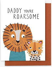 Stop the Clock Design Roarsome Daddy Father's