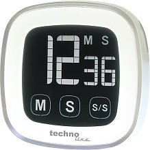Stopwatch Clock Technoline