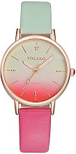 Stopwatch Women's Watch Candy-colored Fashion
