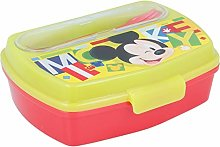 Stor Mickey Mouse Sandwich Maker with Cutlery,
