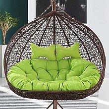Storagc Thickened Balcony Egg Nest Chair Pad,