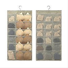 Storage Bag Wall Hanging Underwear Socks Wardrobe
