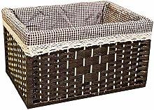 Storage Basket Bamboos Weaving Storage Baskets