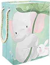 Storage Basket Cute Elephant and Rabbit Nursery