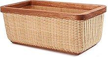 Storage basket desktop organizer fruit basket with