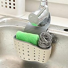 Storage Basket Drainer Suction Cup Sink Shelf Soap