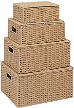 Storage Basket Hamper (Set of 4) – Storage Bin