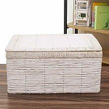 Storage Basket Laundry Storage Basket with Lid