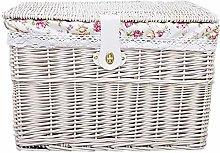 Storage Basket Manual Woven Wicker Storage Basket