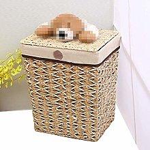 Storage Basket Rattan Snack Storage Box Handmade