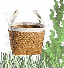 Storage Basket Wicker Weaving Storage Basket for