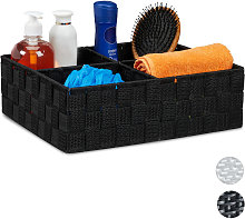 Storage Basket with 4 Compartments, Bathroom
