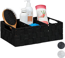 Storage Basket with Compartments, Bathroom