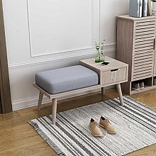 Storage Benches Storage Bench Wood with Drawer