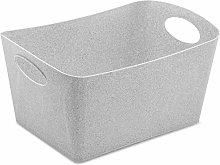 Storage bin BOXXX M, organic grey