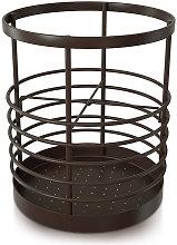 Storage box for kitchen utensils on the worktop,