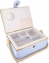 Storage Box Sewing Basket Portable for Home Office