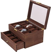 Storage Box With Drawers, 20-meter Solid Wood