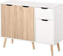 Storage Cabinet Floor Standing Sideboard with