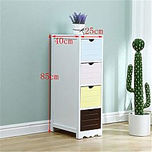 Storage cabinet Mini Bedside Table Multi-layer