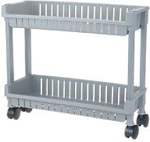 Storage Cart on Wheels for Bathroom Kitchen Office