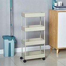 Storage Cart Storage Trolley 4 Tier Storage